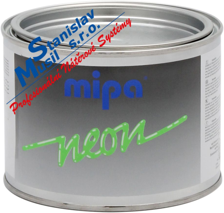 Mipa NEON RAL 3024 0,5ltr