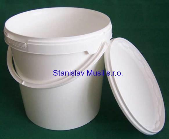 Plastový kbelík s víkem 5l