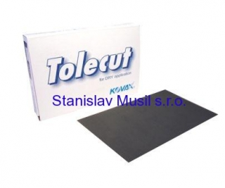 Br.arch Tolecut Black 70x114mm P3000, 25 ks