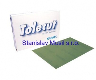 Br.arch Tolecut Green 70x114mm P2000, 25 ks